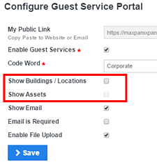 create guest request qr code